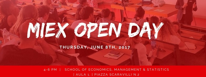 MIEX Open Day 2017