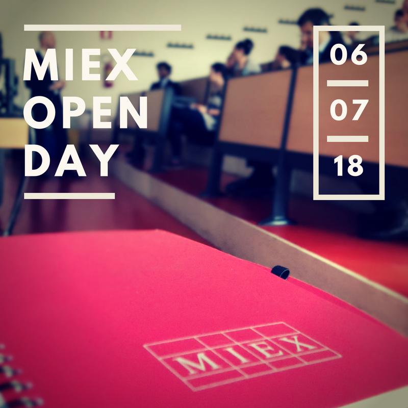 2018 MIEX OPEN DAY