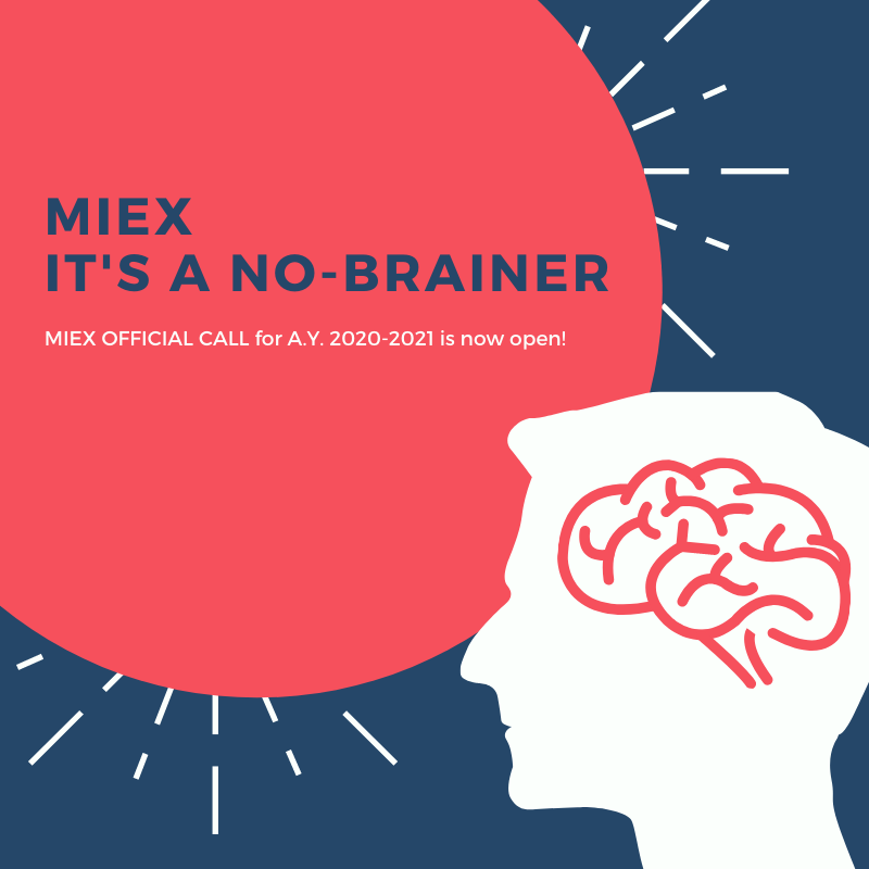 MIEX 2020-2021 Applications Now Open